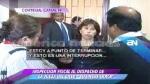 Cuestionada jueza María Martínez mostró a periodistas que audios del caso BTR están bien resguardados - Noticias de gladys echaiz
