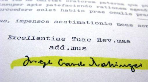 Antes de ser papa, Joseph Ratzinger se negó a despedir a sacerdote pedófilo