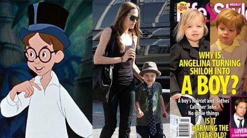 Hija biológica de Angelina Jolie y Brad Pitt prefiere que la llamen 'John', por el personaje de Peter Pan
