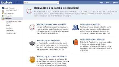 Facebook rediseñó su centro de seguridad virtual para proteger a sus usuarios