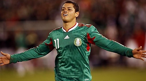 """El 'Chicharito' Hernández: """"primero México, después el Manchester United"""""""