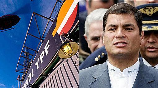 Rafael Correa envió proyecto al Congreso de Ecuador para expropiar las petroleras privadas