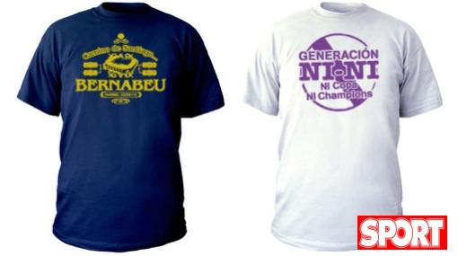 La 'Messimanía' trae creativas camisetas y burlas al Real Madrid