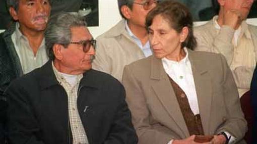 Abimael Guzmán y Elena Iparraguirre terminaron su huelga de hambre