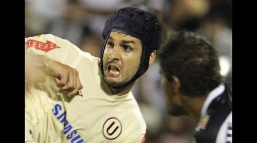 Gianfranco Labarthe podría usar un protector de cabeza al estilo Fleitas