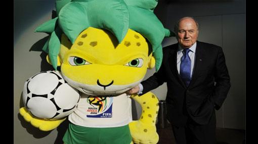 """Joseph Blatter: """"Estoy esperando a un equipo africano en las semifinales"""""""