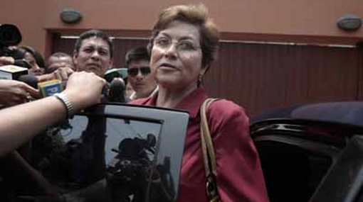Fiscal de la Nación admitió que su esposo es aprista y pidió no ser juzgada por ello