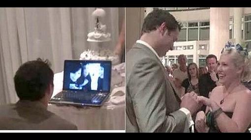 Pareja celebró su boda por Skype debido a nube volcánica