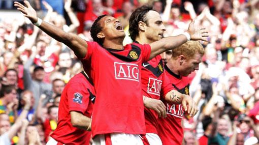 Manchester United ganó y es líder provisional de la Premier League