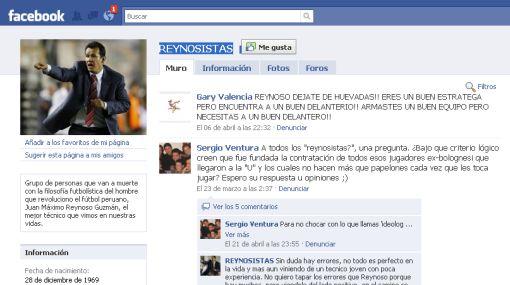 Un grupo de Facebook apoya al técnico de Universitario Juan Reynoso