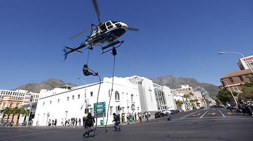 Sudáfrica sacó la artillería para ofrecer seguridad en el Mundial
