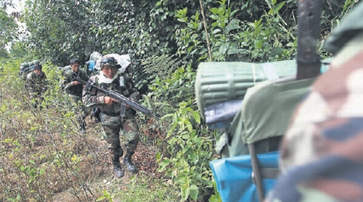 Nueve presuntos senderistas fueron capturados en Huánuco