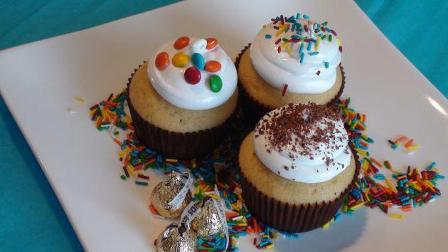 En siete pasos: hornee y regale cupcakes en el Día de la madre