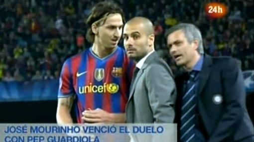 ¿Qué le dijo Mourinho a Guardiola en plena semifinal de la Champions?