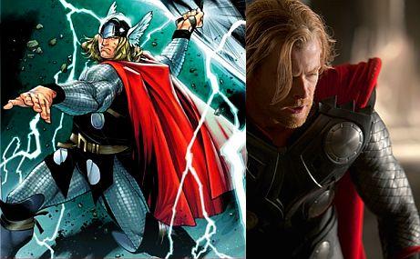 Este es el rostro de 'Thor', el superhéroe que llegará a la pantalla grande en 2011