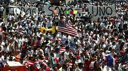 """""""Todos somos Arizona"""", gritan los inmigrantes en Estados Unidos"""