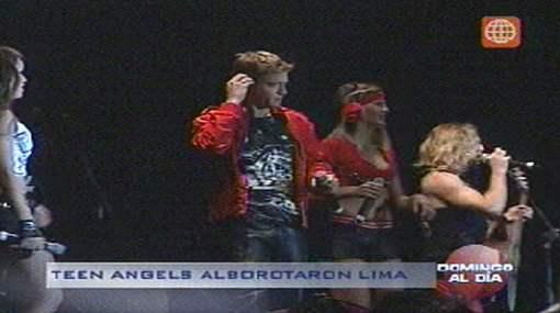 Los Teen Angels conquistaron a los jóvenes limeños