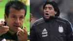 Dunga y Maradona podrían ser campeones como jugadores y como técnicos - Noticias de reto de campeones
