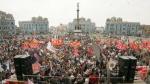 La histórica Plaza Dos de Mayo luce desastrosa y es insegura - Noticias de mariano melgar