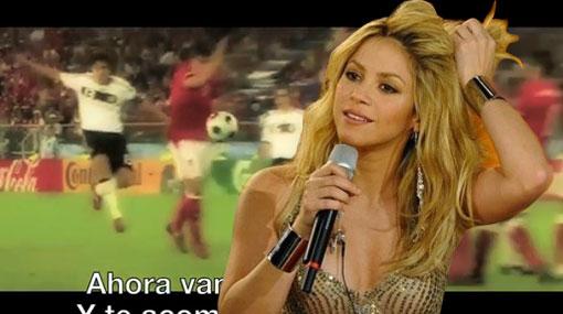 La canción del Mundial de Shakira no convence a los sudafricanos ¿Y a ti?