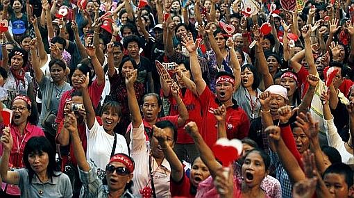 ¿Paz en Tailandia? Los 'camisas rojas' aceptan plan de reconciliación
