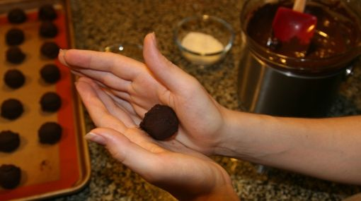 Prepare y regale trufas de chocolate en el Día de la Madre