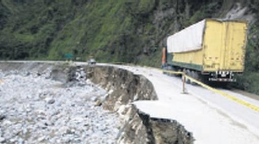 Vía riesgosa: la Carretera Central necesita urgente mantenimiento
