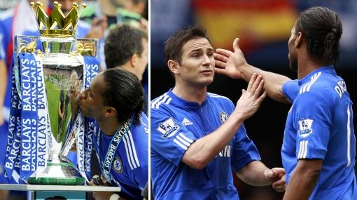 Bota de Oro de Drogba se 'manchó' por altercado entre el goleador y Lampard