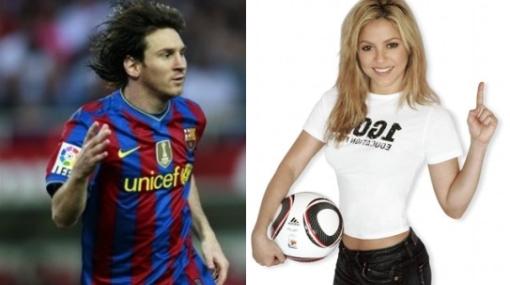 Shakira y Messi, juntos al ritmo de la canción del Mundial