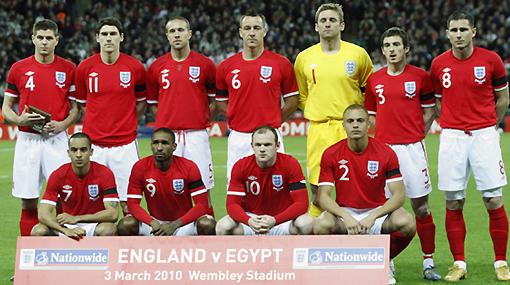 Capello dio la lista de los 30 preconvocados de Inglaterra con Rooney a la cabeza