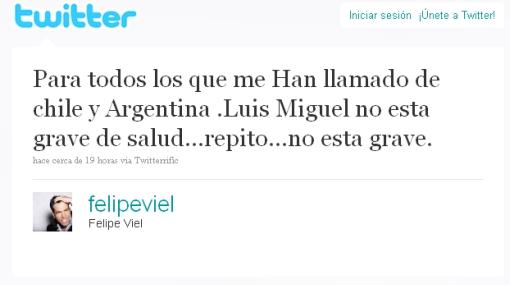 Ahora descartan que Luis Miguel esté en coma