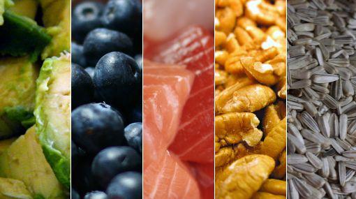 Cinco tipos de alimentos que son buenos para el cerebro