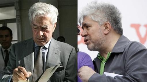 Vargas Llosa y Almodóvar, en campaña por democratización de Cuba