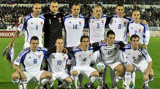 Eslovaquia lanzó una preconvocatoria con 29 jugadores para Sudáfrica