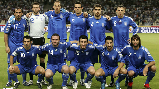 Charisteas y Gekas entraron en la lista previa de Grecia para Mundial