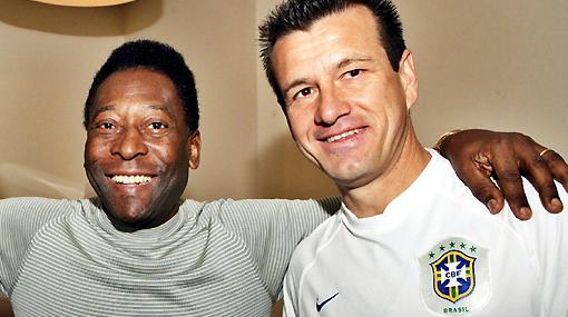 Pelé le dio su 'aprobación' a la convocatoria de Dunga para el Mundial