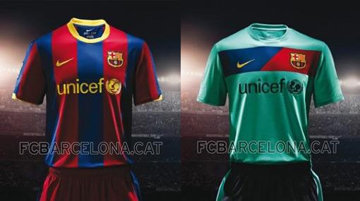 La nueva camiseta del Barcelona será color verde