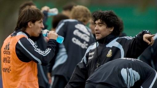 """Diego Maradona: """"Este será el Mundial de Messi"""""""