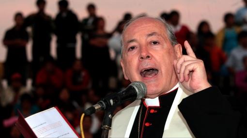 Cipriani demandó a candidatos dejar acusaciones