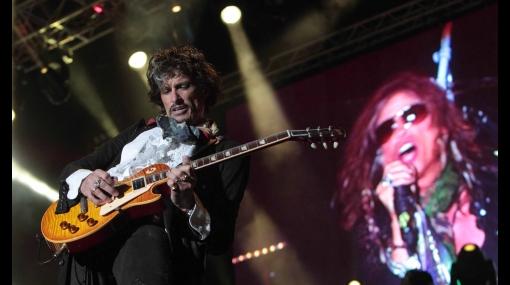 Aerosmith hizo delirar a más de 30 mil fanáticos en una noche inolvidable