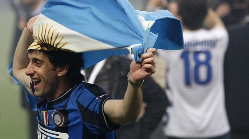 """Diego Milito tiene un deseo: """"Sueño con un gol en el Mundial"""""""