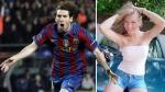 """Ex novia de Messi: """"No me tocó ni un pelo, me trató como a una lady"""" - Noticias de fc barcelona"""
