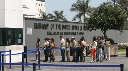 Embajada de EE.UU. en Perú sigue funcionando con normalidad