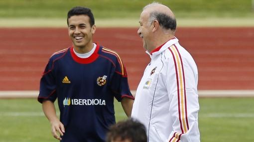 Pedro será delantero de España con el dorsal '2'... y no le gusta