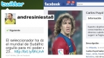 España prohibió a sus jugadores utilizar Facebook y Twitter en el Mundial - Noticias de honduras