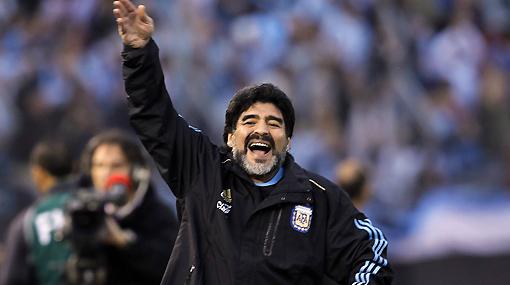 """Maradona: """"Si gano el Mundial me desnudo y salgo a recorrer el Obelisco"""""""