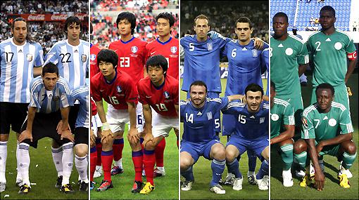 Grupo B: Argentina es la favorita pero Corea del Sur y Grecia amenazan
