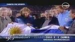 Uruguay y Chile golearon en amistosos mientras que México perdió ante Holanda - Noticias de diego pereira