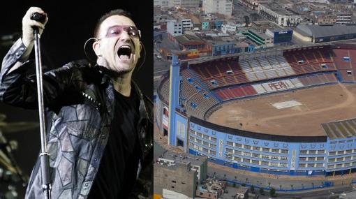 A propósito de la posible llegada de U2: ¿Cuándo estará listo el Estadio Nacional?