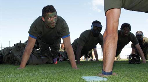 Comando Cristiano: la selección portuguesa convirtió el estadio en un cuartel